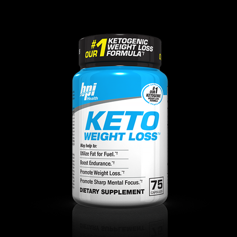 BPI Keto Weight Loss, 75caps