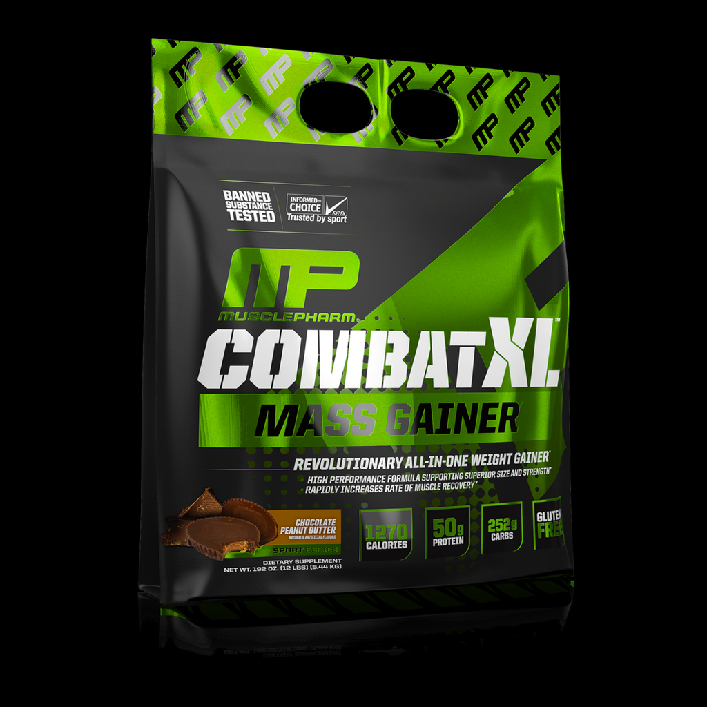 MusclePharm Combat XL Mass Gainer, 12lb