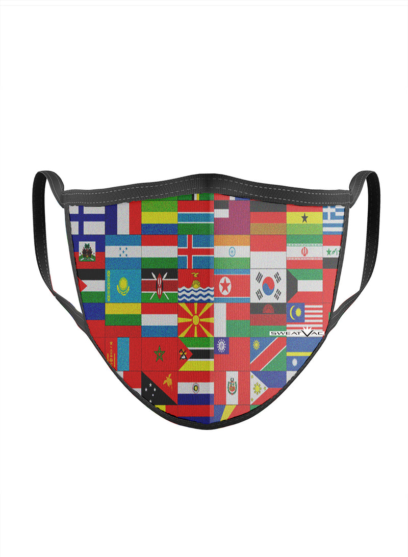 International Flags Face Mask