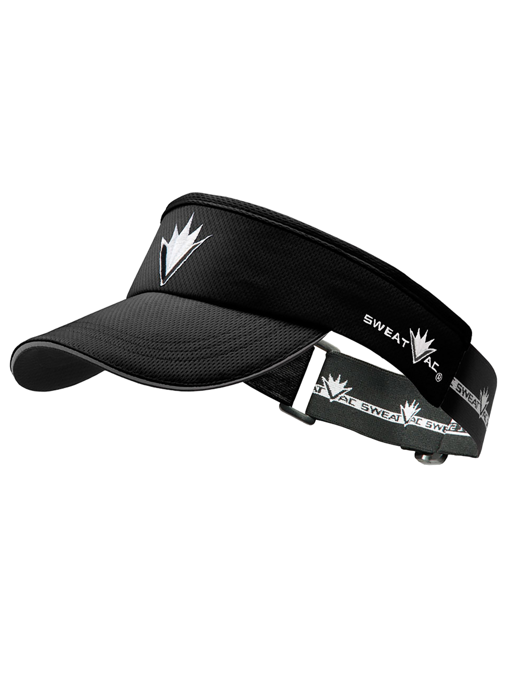 Black Race Visor w VBurst