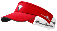 Red Race Visor w VBurst