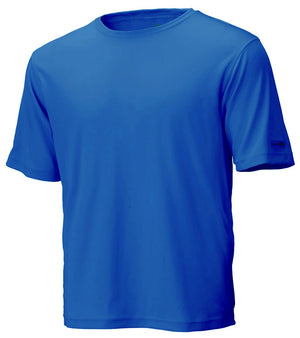 Blue Unisex Short Sleeve Race Tee