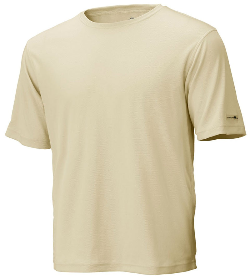 Khaki Unisex Short Sleeve Race Tee