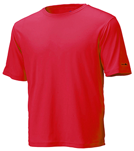 Red Unisex Short Sleeve Race Tee