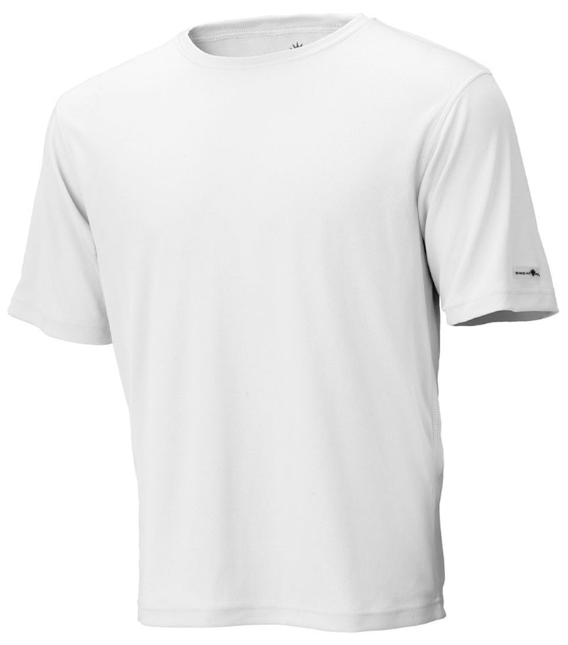 White Unisex Short Sleeve Race Tee
