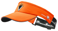 Orange Race Visor w VBurst
