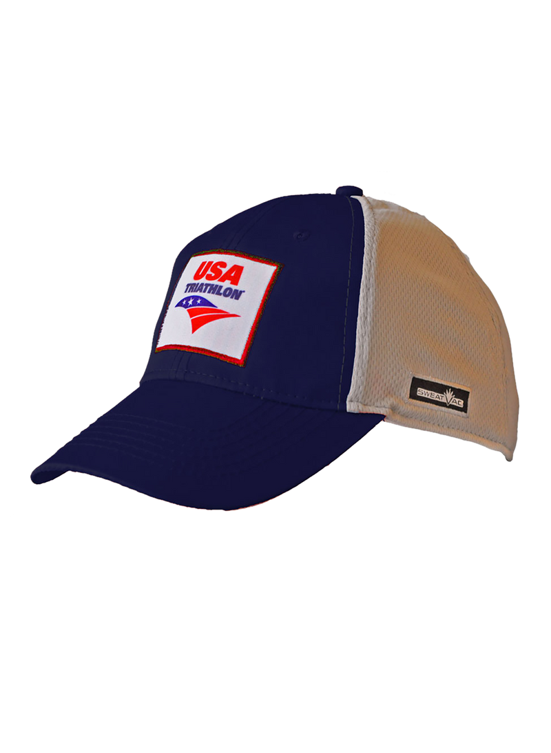 Blue USA Triathlon Techflex Hat