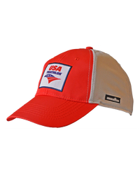 Red USA Triathlon Techflex Hat