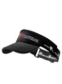 Black USA Triathlon Visor