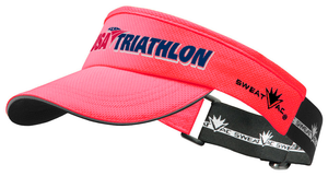Pink USA Triathlon Visor