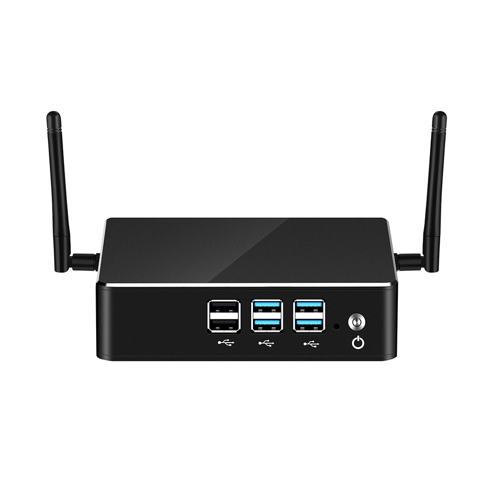 8th Intel Core Mini PC i3 8130U i5 8250U i7 8550U Windows 10 DDR4 mSATA Gigabit Ethernet WiFi Bluetooth 8*USB HDMI VGA 4K HTPC - A.works