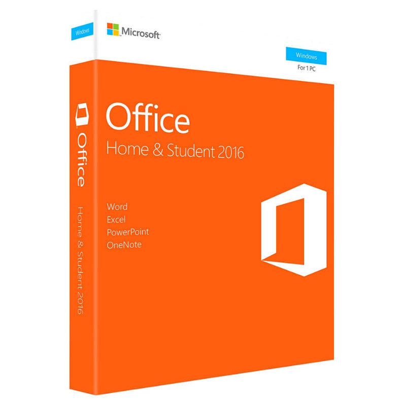 Microsoft Office Home And Student 2016  for windows Retail boxed with Product Key Code PC Download - A.works