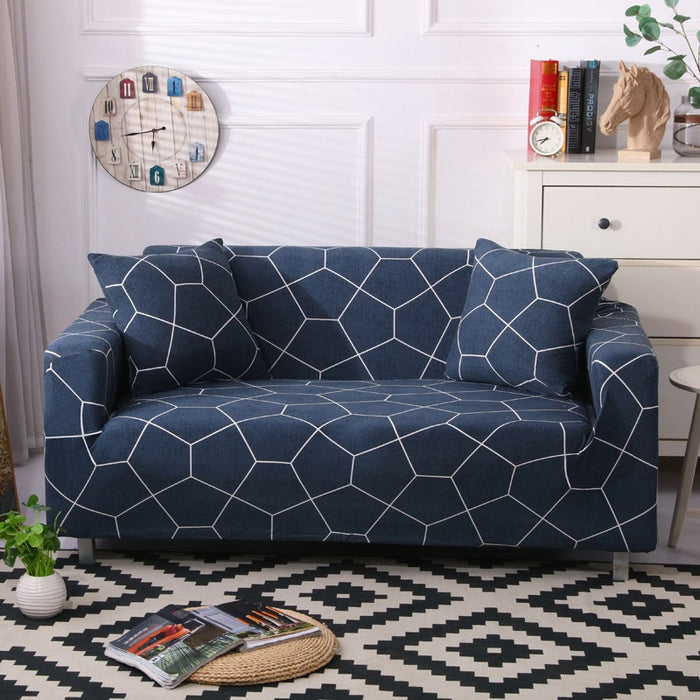 WonderCover - Premium Abstract/Geometric Sofa Cover