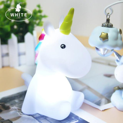Baby Night Light LED Unicornion Lamp - Gadget Go 123