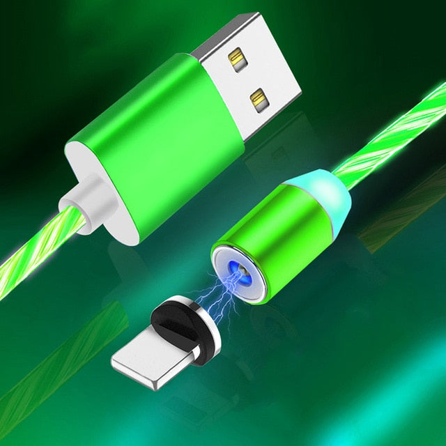 FIREFLY - LED Magnetic Charging Cable - Gadget Go 123