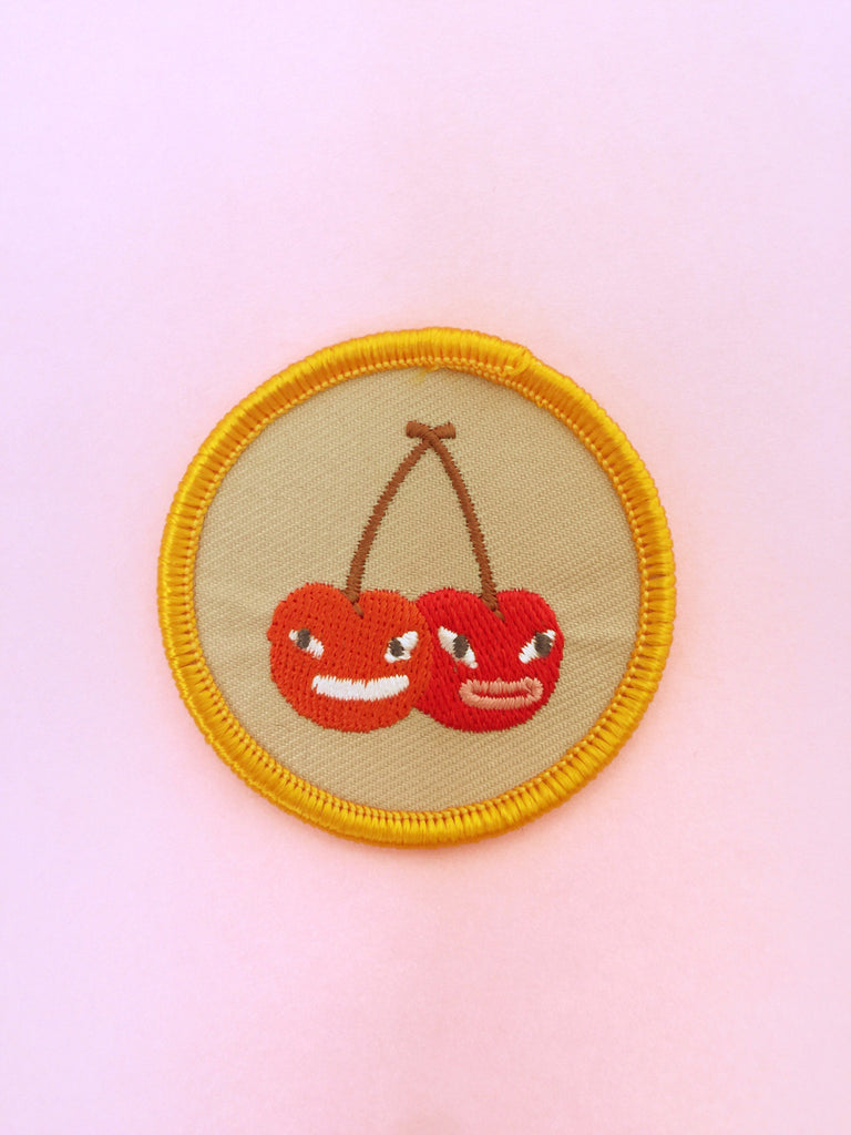 Cherry Scout Badge