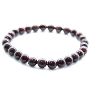 Power Bracelet - Blood Garnet