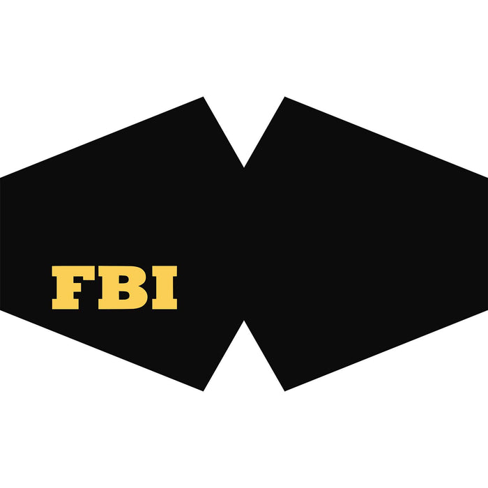 Reusable Fashion Face Covering - FBI (Adult)