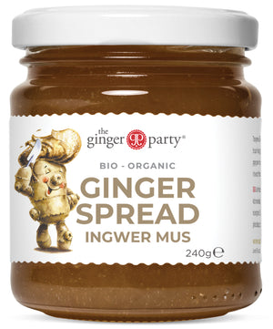 Organic Ginger Spread 240gm