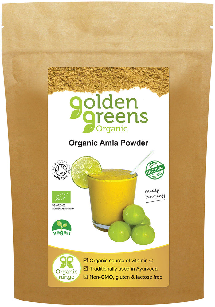 Golden Greens Organic Amla Powder 200gm
