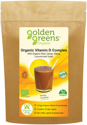 Golden Greens Organic Vitamin D Complex 150gm