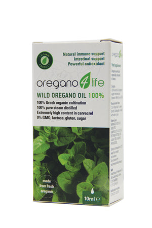Oregano4life Wild Oregano Oil 100% 10ml