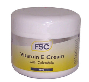 Vitamin E Cream and Calendula 100g