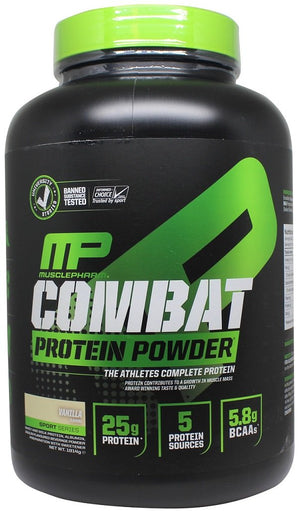 Combat Protein Powder, Strawberry - 1814 grams