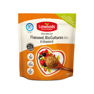 Milled Flaxseed with Bio-Cultures & Vitamin D 360g