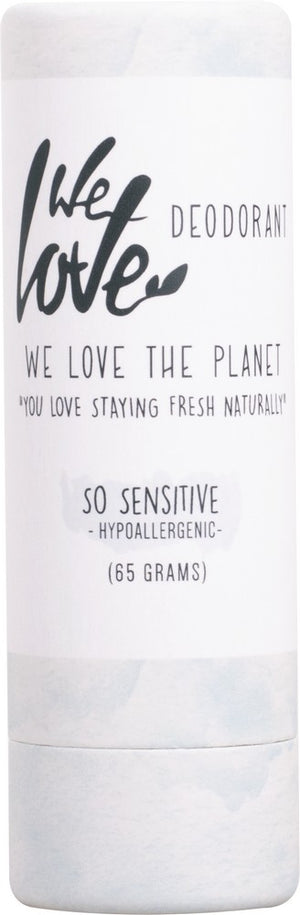 We Love Deodorant So Sensitive 65g