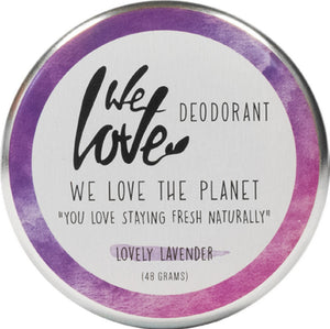 We Love Deodorant Lovely Lavender 48g
