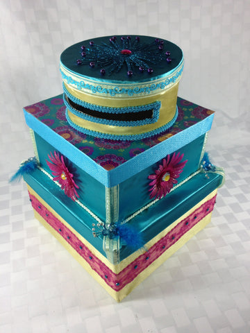 "3 Tiers of Pretty (12"" D x 18"" H)"