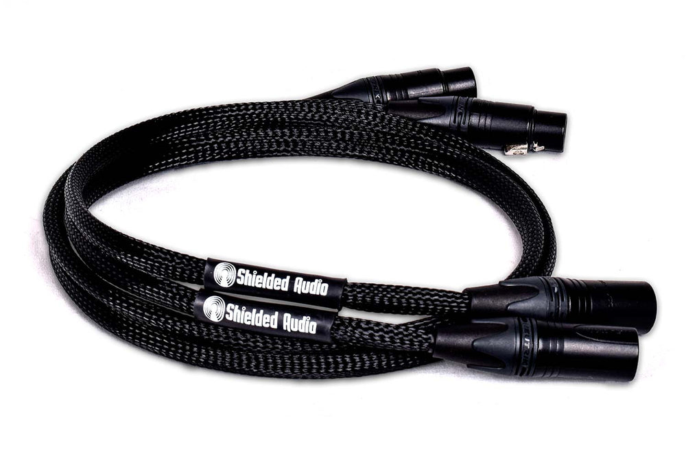 Kinetic XLR to TRS - Shielded Audio