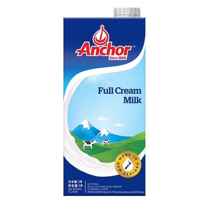 Anchor UHT Full Cream Milk 1L