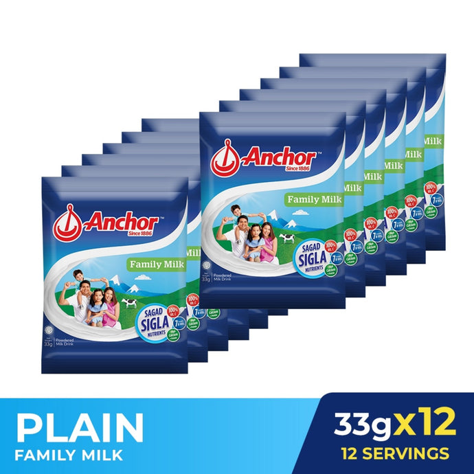 Anchor Family Milk 33g x12 - BUY 1 GET 1