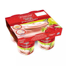 Creamy Delight Strawberry Yogurt 100g x 4