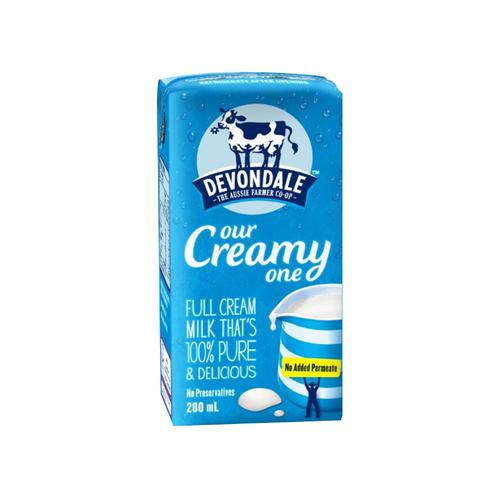 Devondale Full Cream UHT Milk 200ml (50% off)