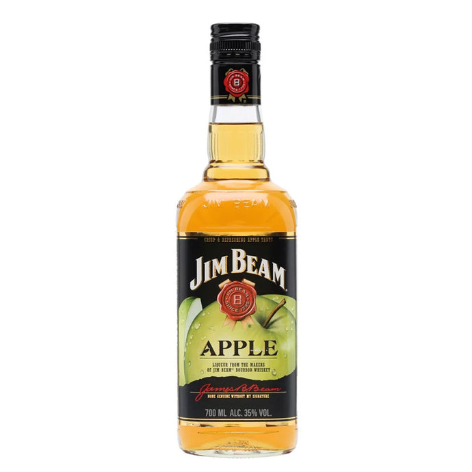 Jim Beam Apple American Whiskey Liqueur 700ml (50% Off)