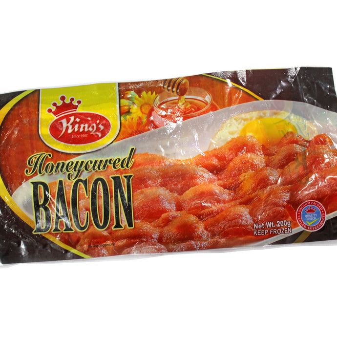 King's Honeycured Bacon 200g
