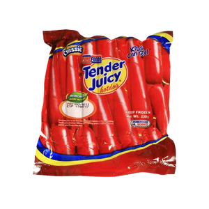 Purefoods Tender Juicy Hotdog Classic Regular 230g