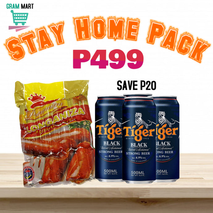 Stay Home Pack P499 Save P20