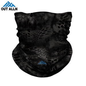 3D Camouflage/Tactical Seamless Bandanna, Face Cover