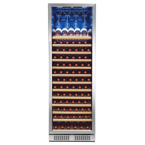 Single Zone Shelves Freestanding Wine Cooler