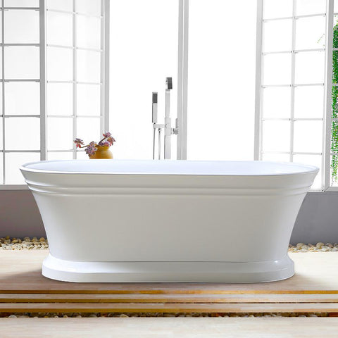 Flatbottom Freestanding Bathtub