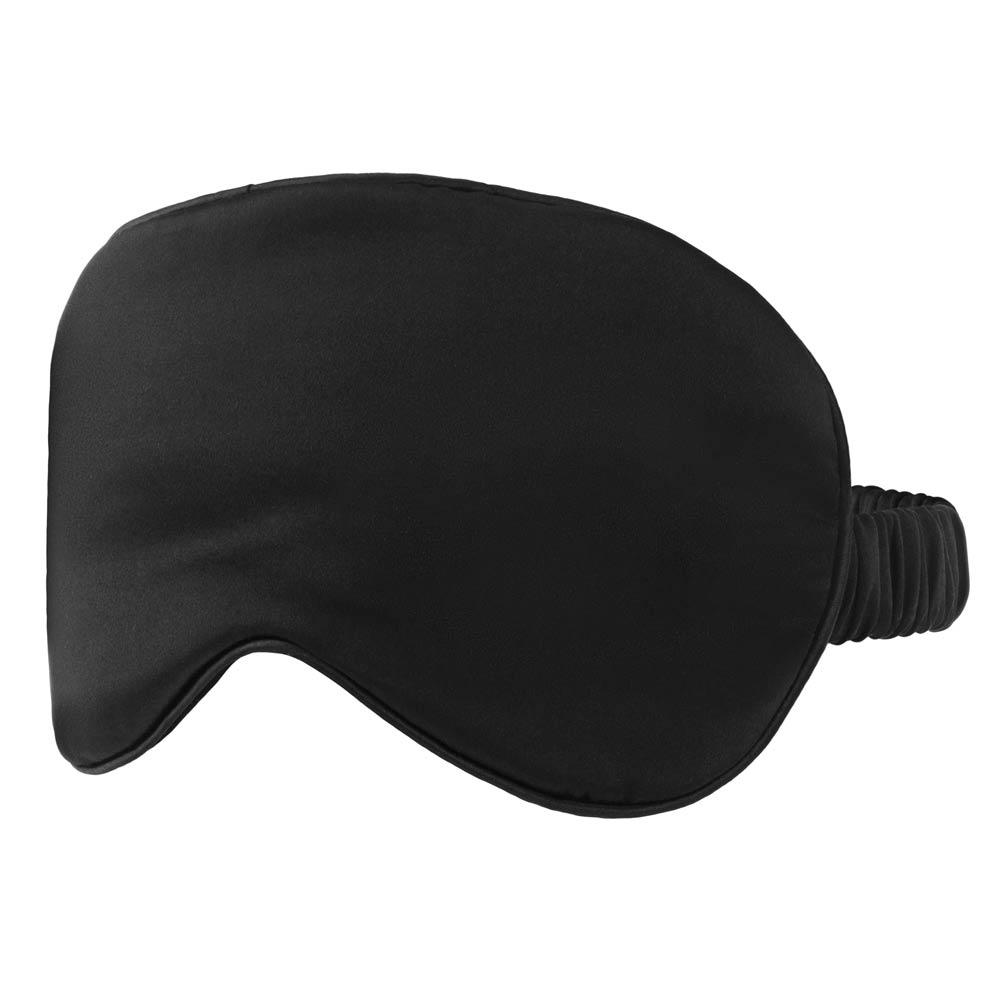 Black Silk Eye Mask - Calidad Home
