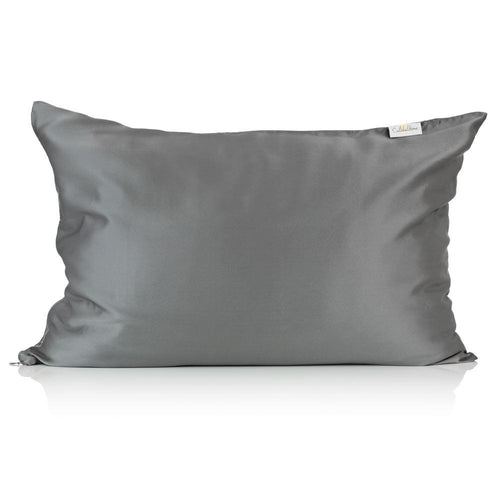 Charcoal Silk Pillowcase - Calidad Home