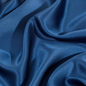Dark Blue Silk Pillowcase - Calidad Home
