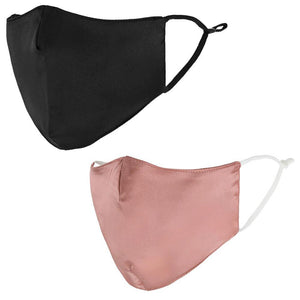 Dark Pink & Black Face Masks - Calidad Home