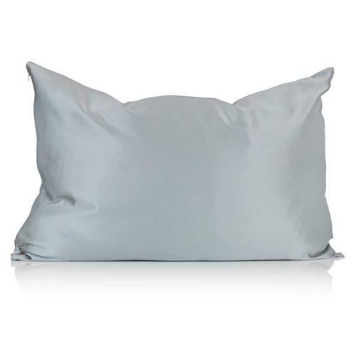 Grey Silk Pillowcase - Calidad Home