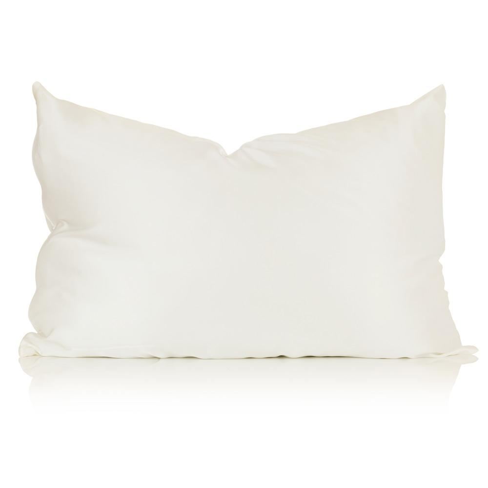 Ivory King Size Silk Pillowcase - Calidad Home
